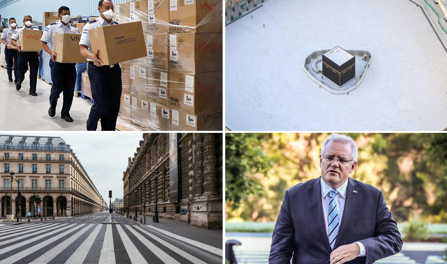Prizori iz SAD-a, Meke, Pariza i australski premijer Scott Morrison