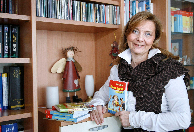 Zagreb, 121213. Sanja Polak, uciteljica i knjizevnica za djecu. Foto: Biljana Gaurina / CROPIX