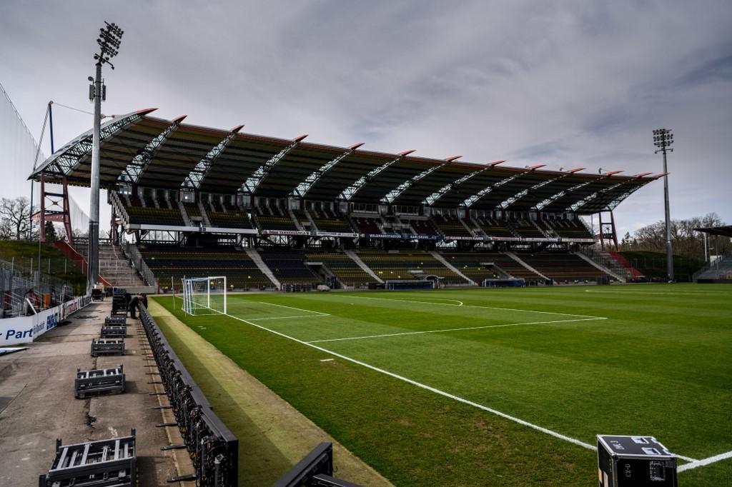 Prazan stadion u Njemačkoj