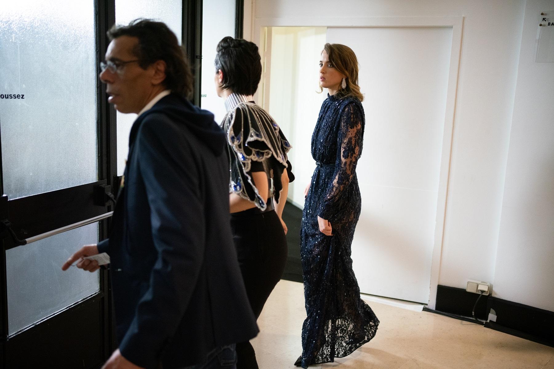 Noémie Merlant i Adèle Haene odlaze nakon proglašenja Romana Polanskog najboljim redateljem