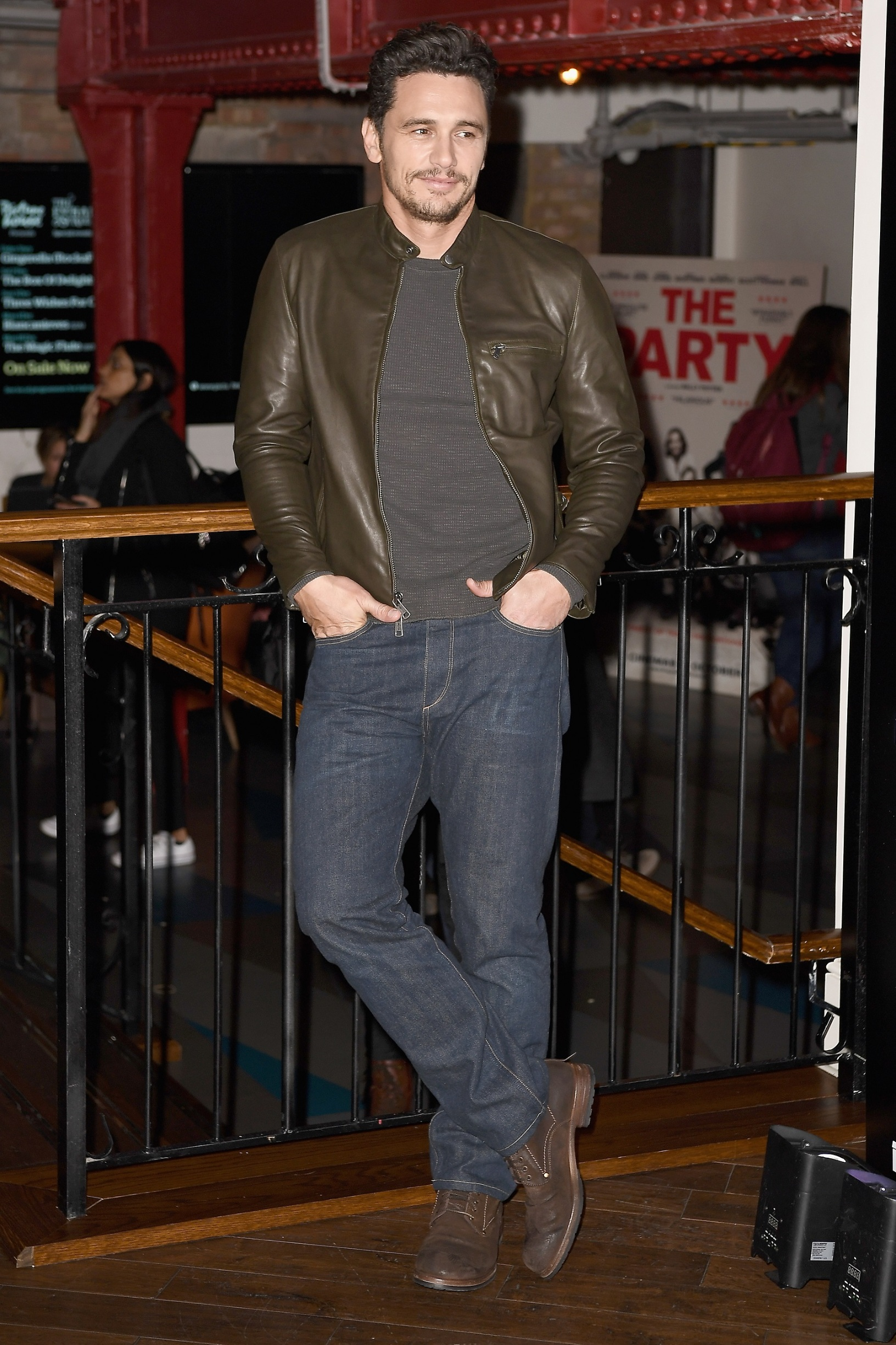 LONDON, ENGLAND - NOVEMBER 22:  James Franco attends a screening of