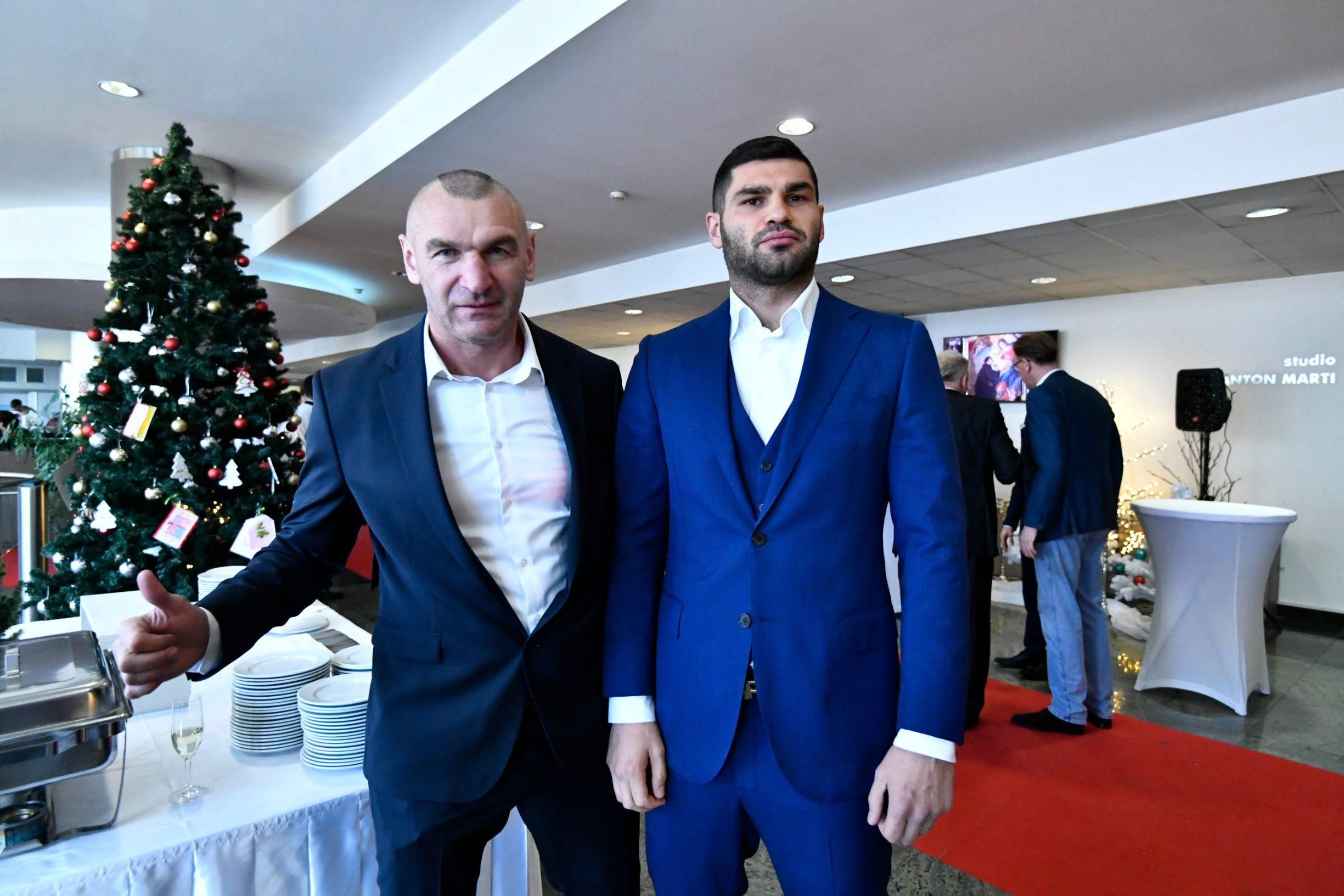 Željko Mavrović i Filip Hrgović