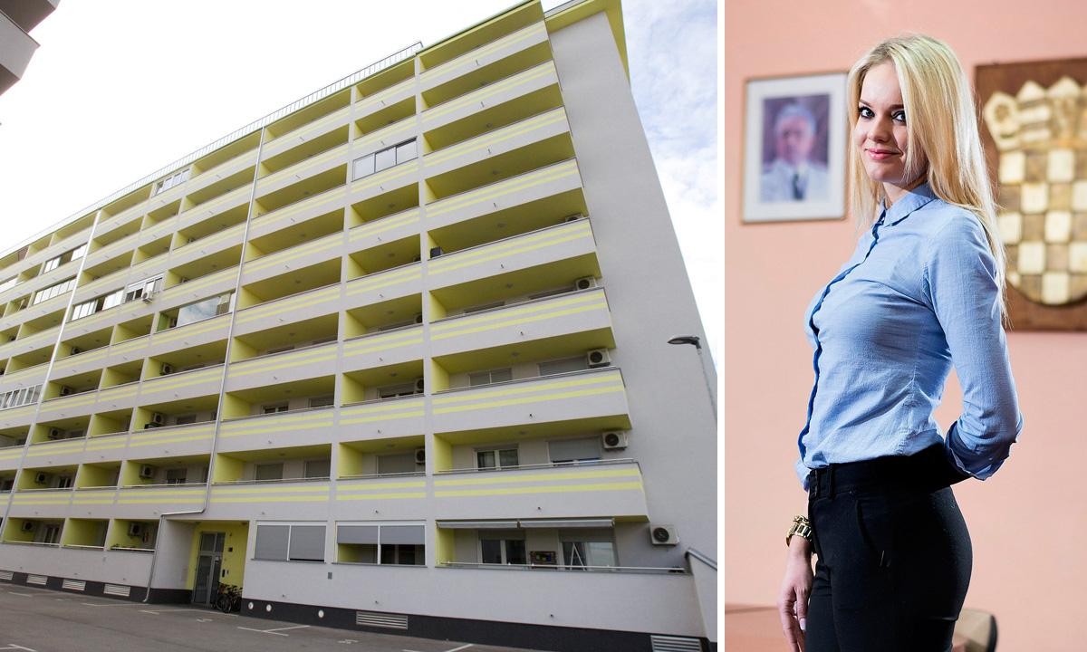 Ulica Marije Radić 2 u zagrebačkom naselju Špansko gdje je stan kupila Anita Nosić, načelnica Lovreća iz HDZ-a (lijevo), Anita Nosić (desno)