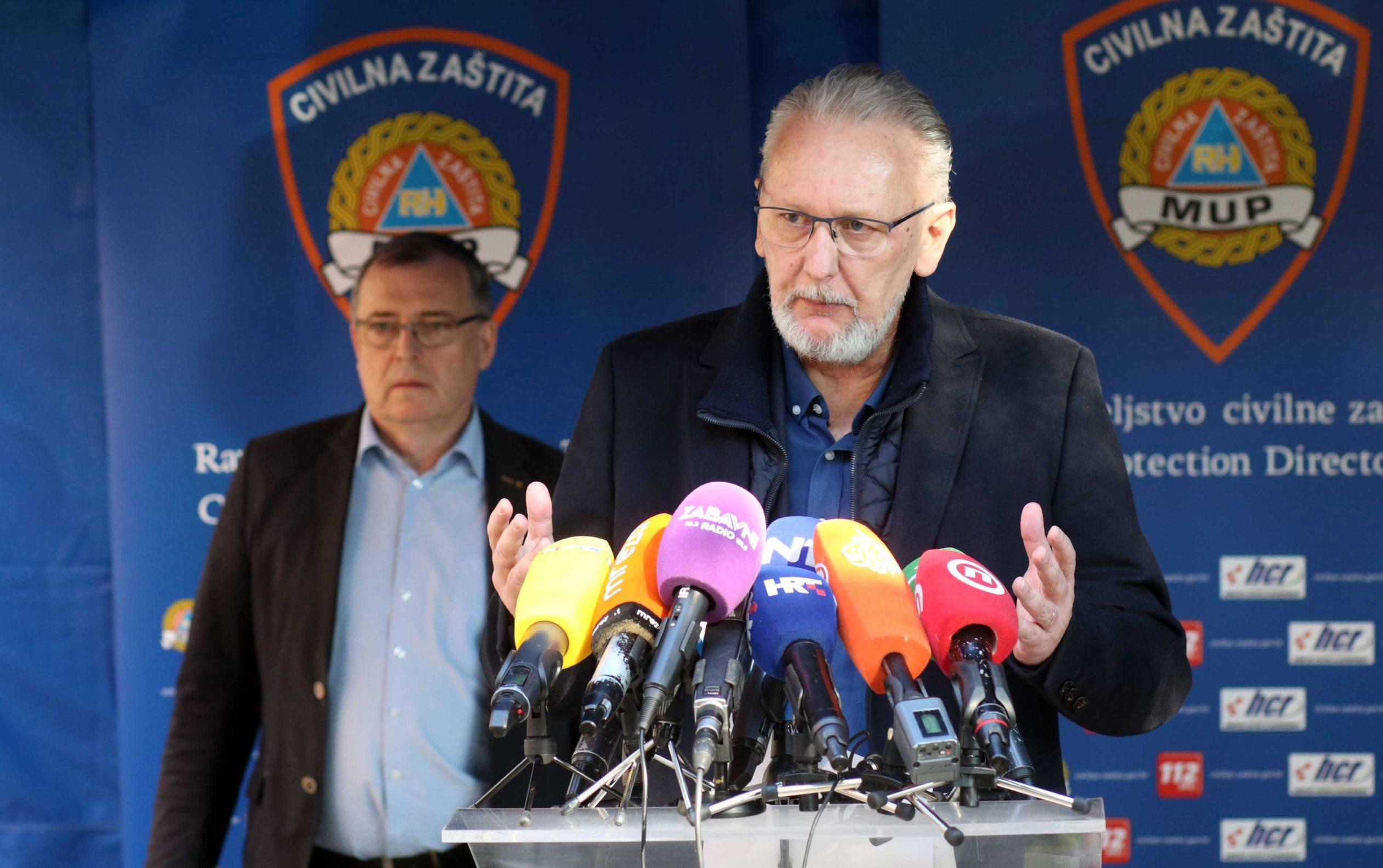 Minister of the Interior Davor Bozinovic