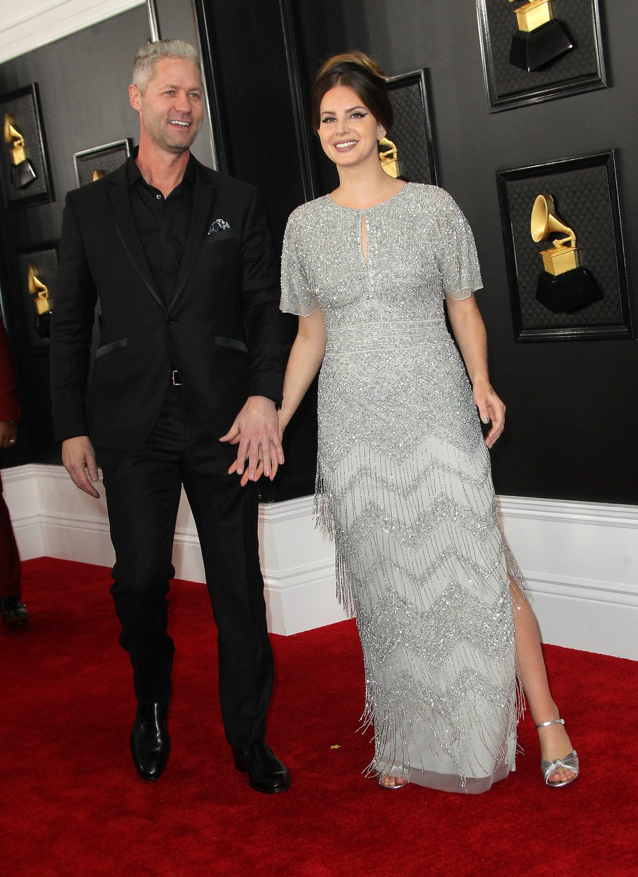 26 January 2020 - Los Angeles, California - Sean Larkin, Lana Del Rey. 62nd Annual GRAMMY Awards held at Staples Center., Image: 494973020, License: Rights-managed, Restrictions: , Model Release: no, Credit line: AdMedia / ADMedia / Profimedia