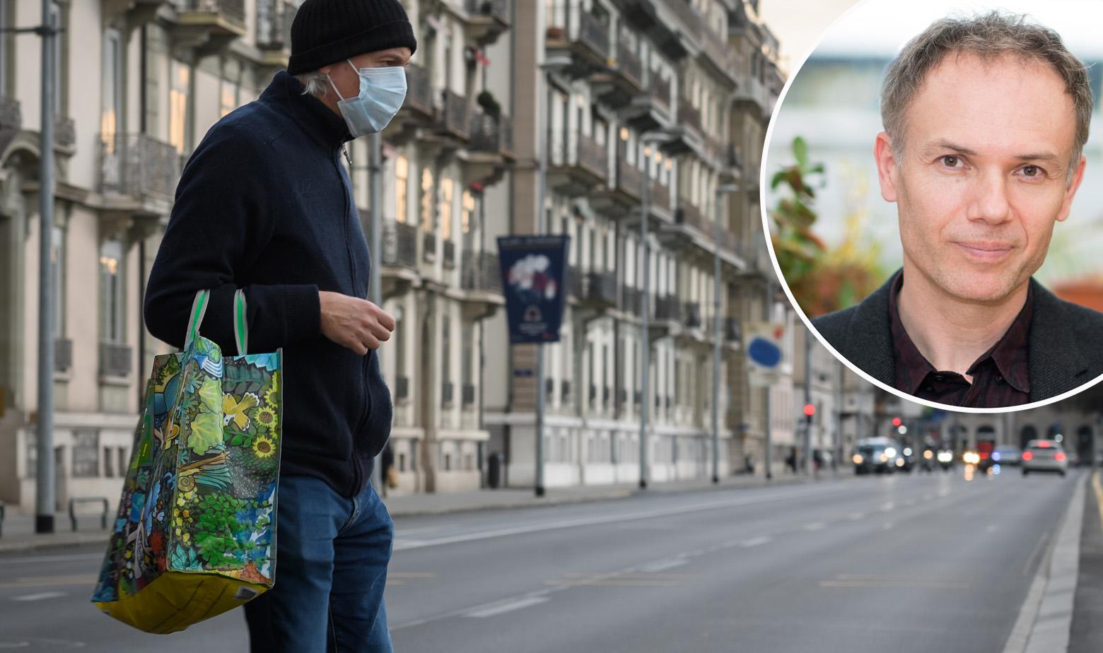Nenad Ban u krugu, prizor iz Ženeve glavna fotografija