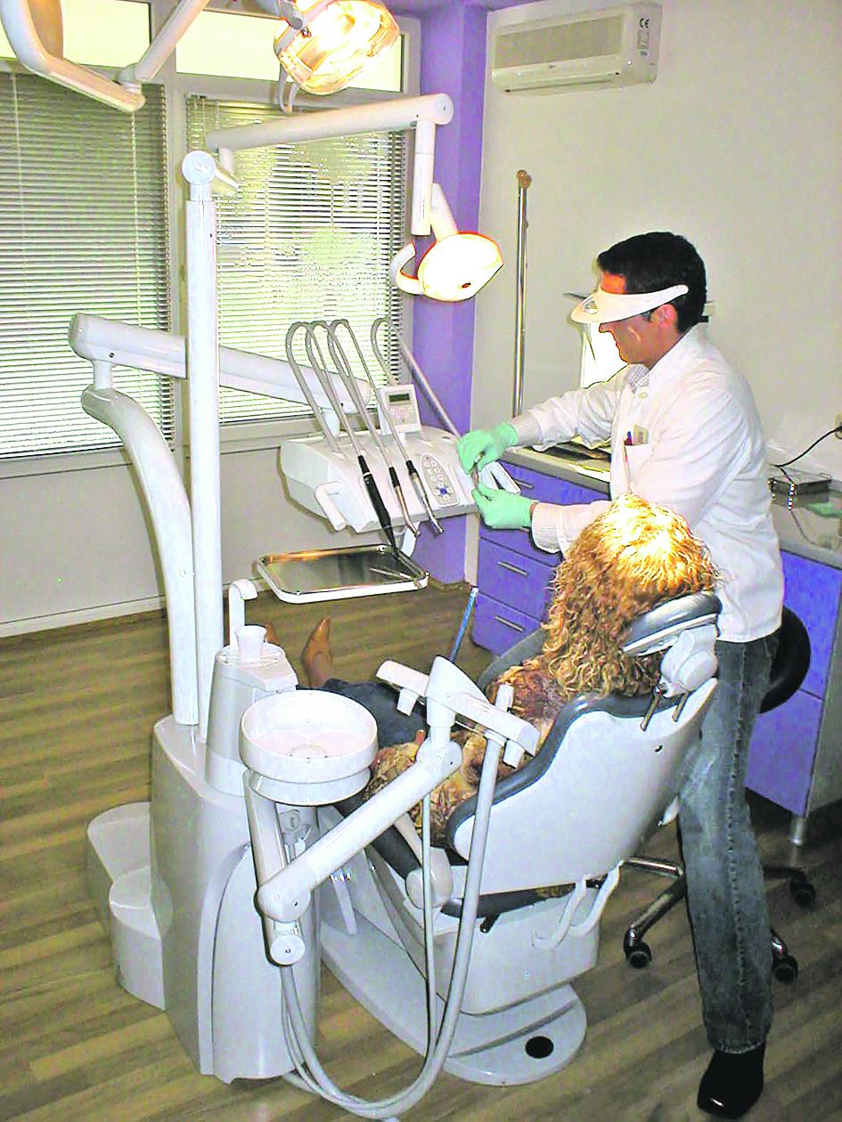 Ilustracija, stomatološka ordinacija