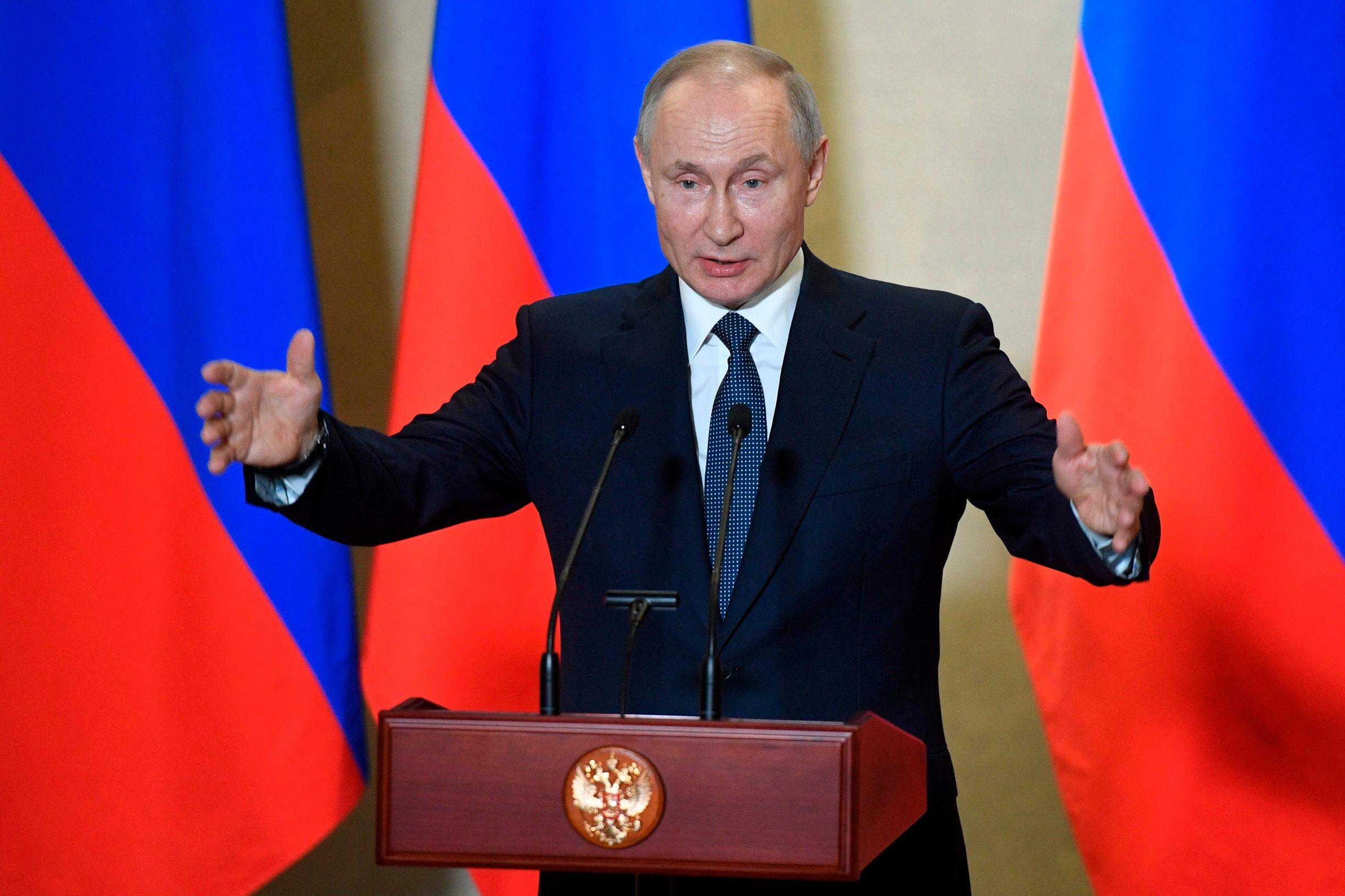 Ruski predsjednik Vladimir Putin siguran je da može izdržati sve pritiske