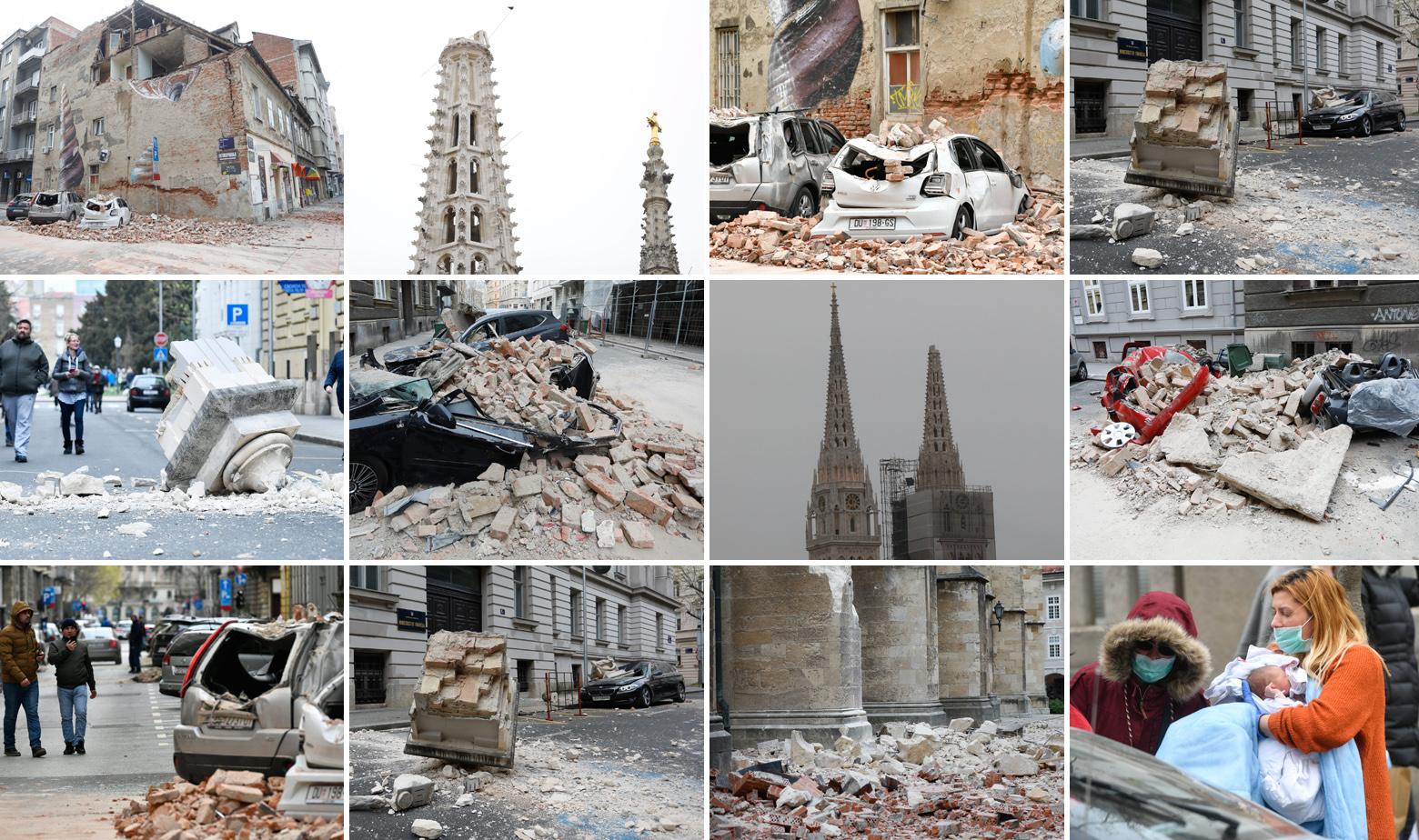 Posljedice potresa u Zagrebu