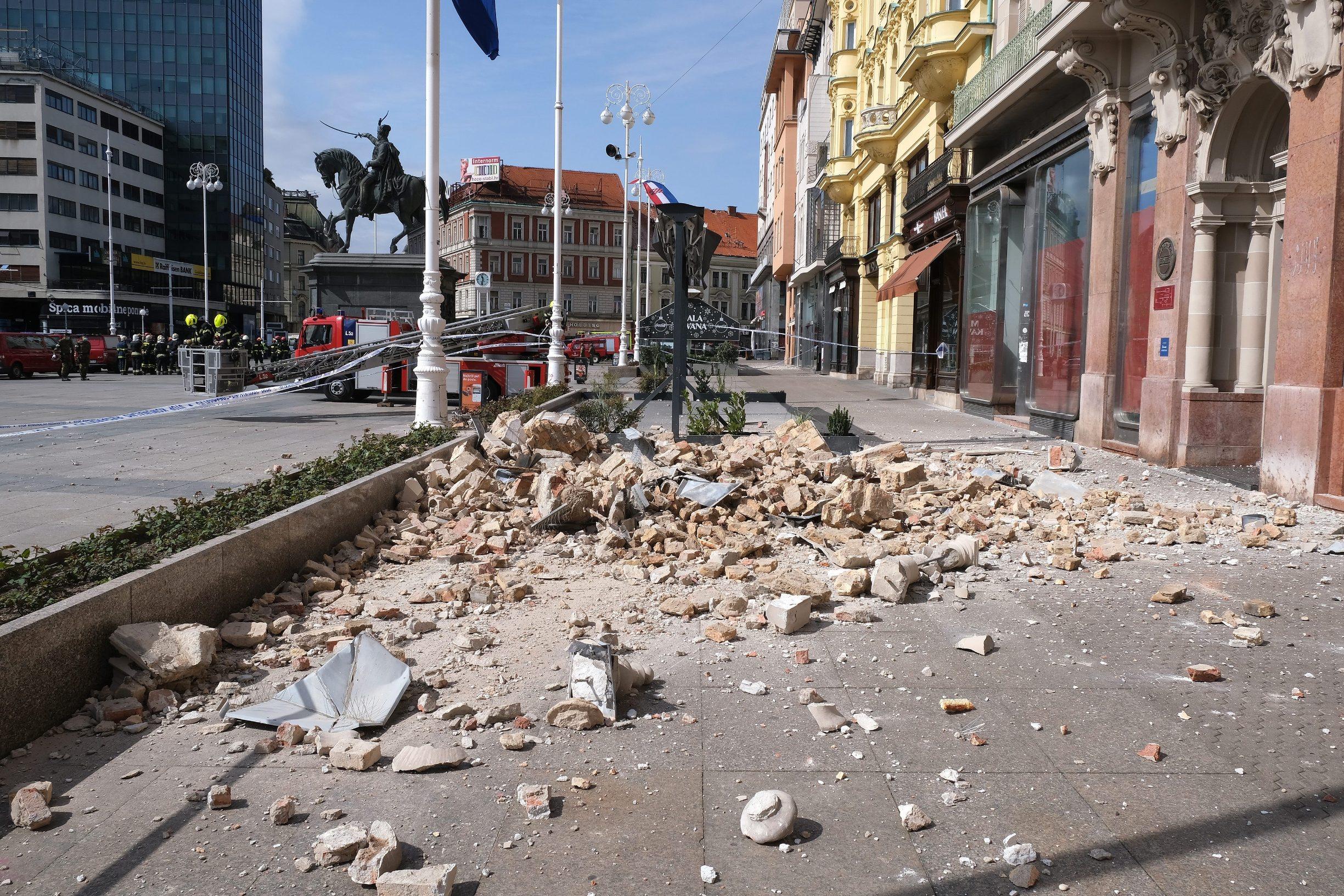 Jutarnji List Zagreb Se Ne Prestaje Tresti Zesci Potres Ponovno Prodrmao Hrvatsku Metropolu Magnituda Je 3 3 Bio Je To Jedan Od Najjacih Udara