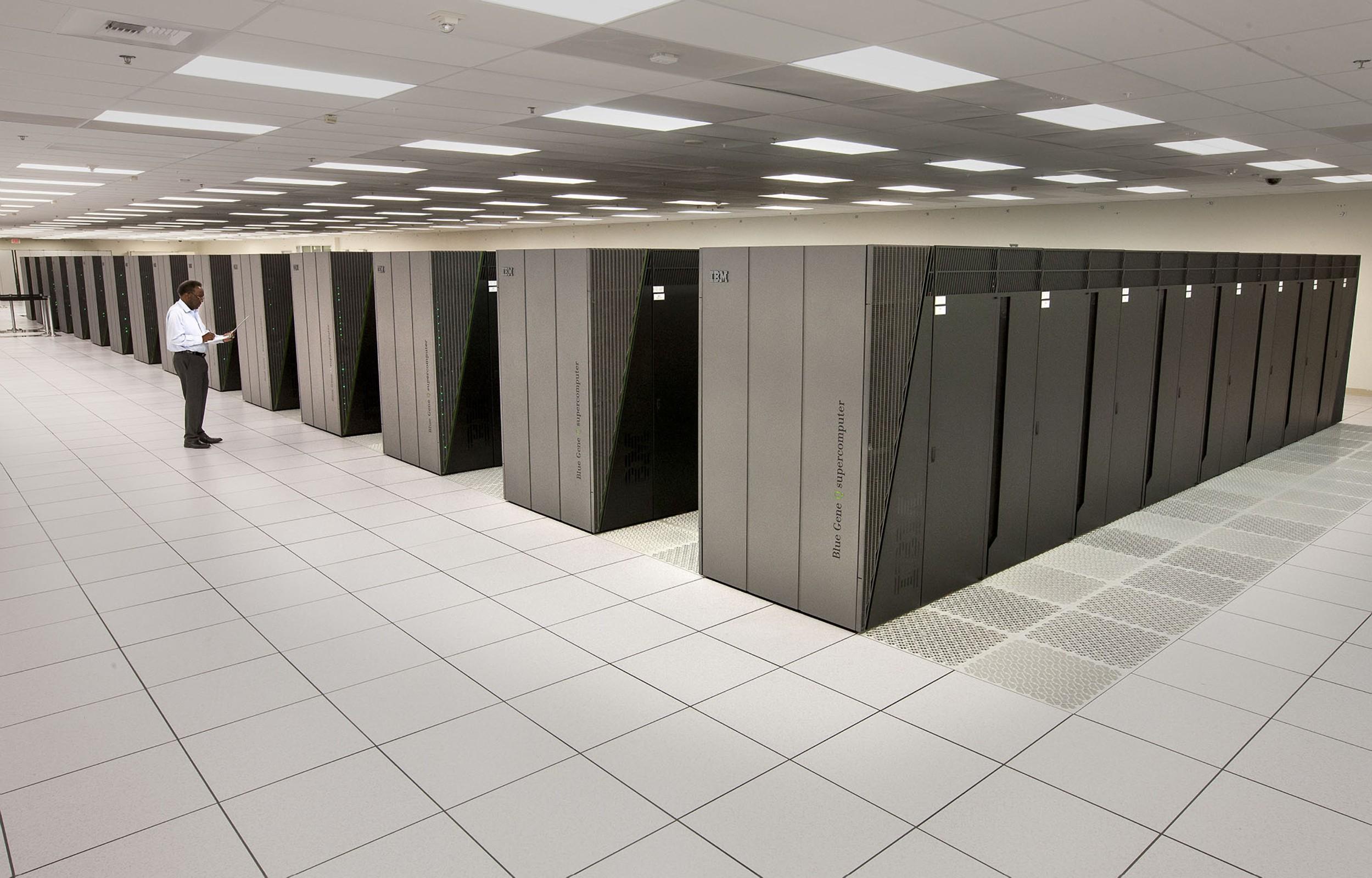 Ilustracija, IBM-ovo superračunalo