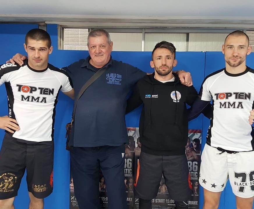 Anton Radman, Branko Cikatić, Matija Blažičević i Marko Burušić