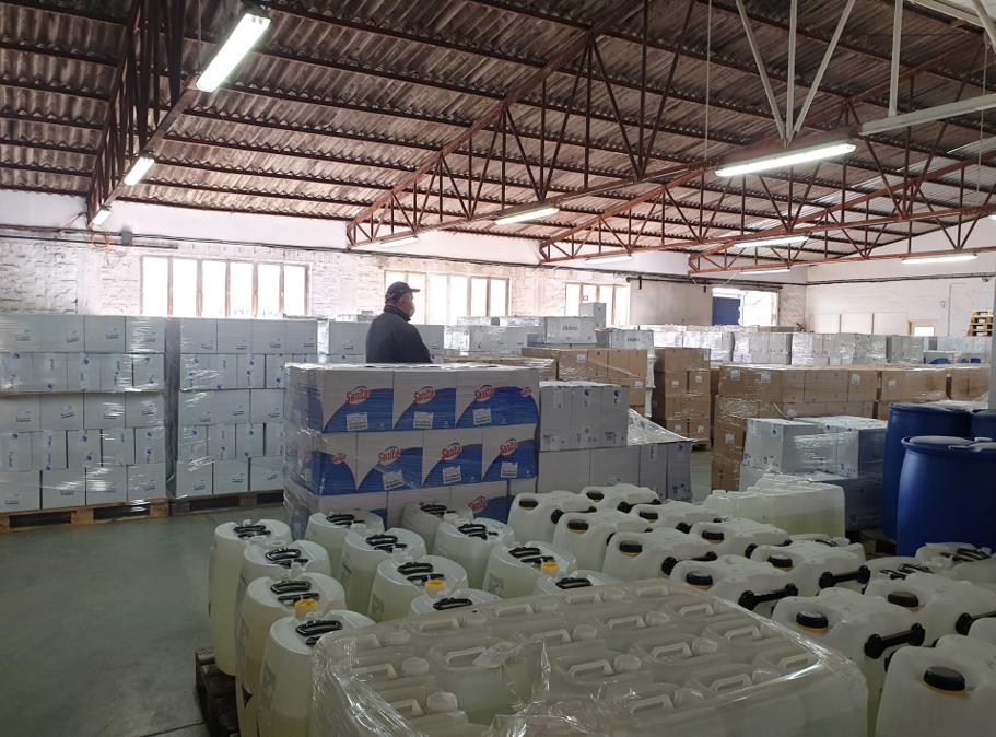 Proizvodnja dezinfekcijskih sredstava u Labudu