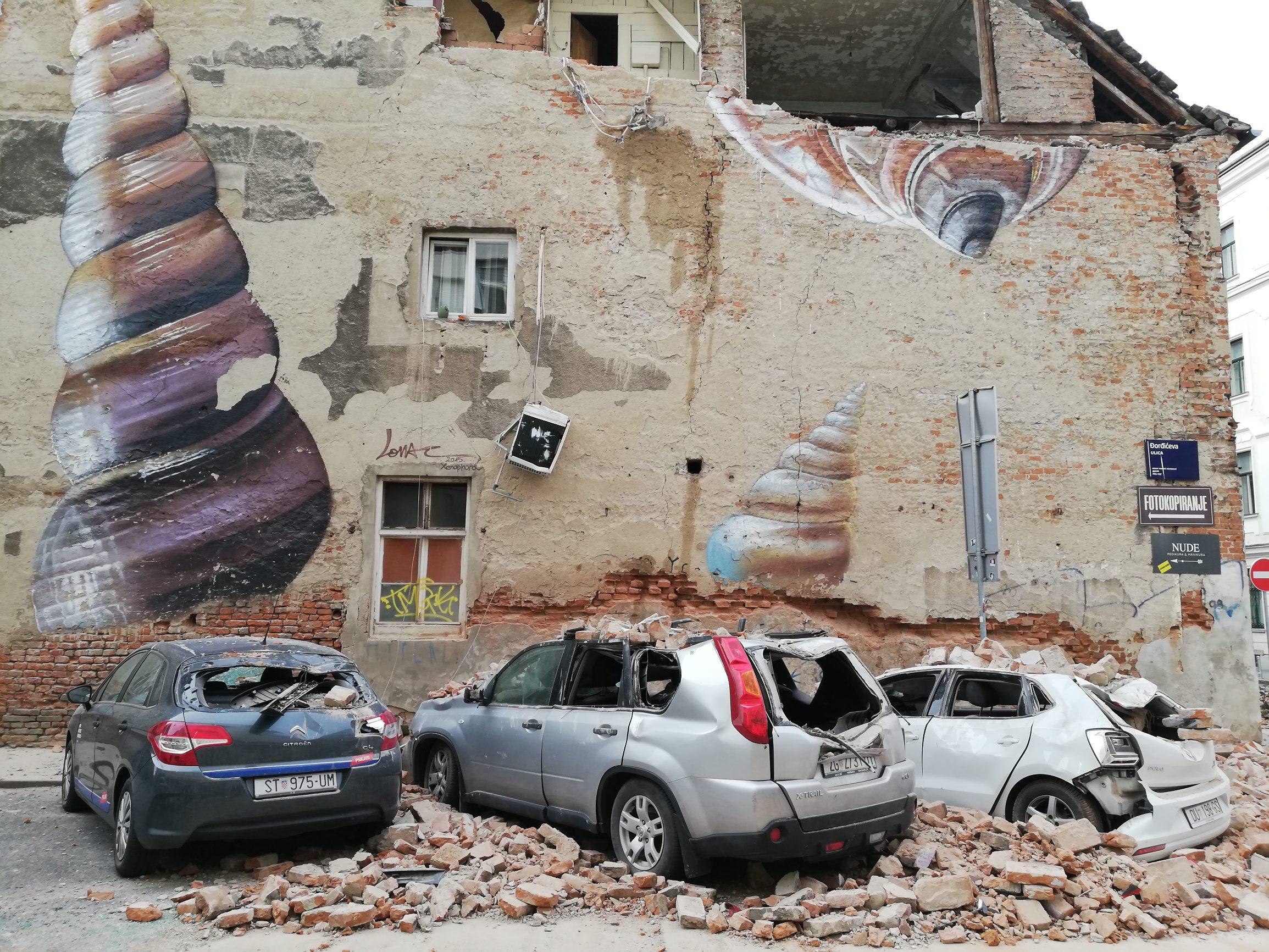 Zagreb, 220320. Potres u Zagrebu.  Foto: Ronald Gorsic / CROPIX