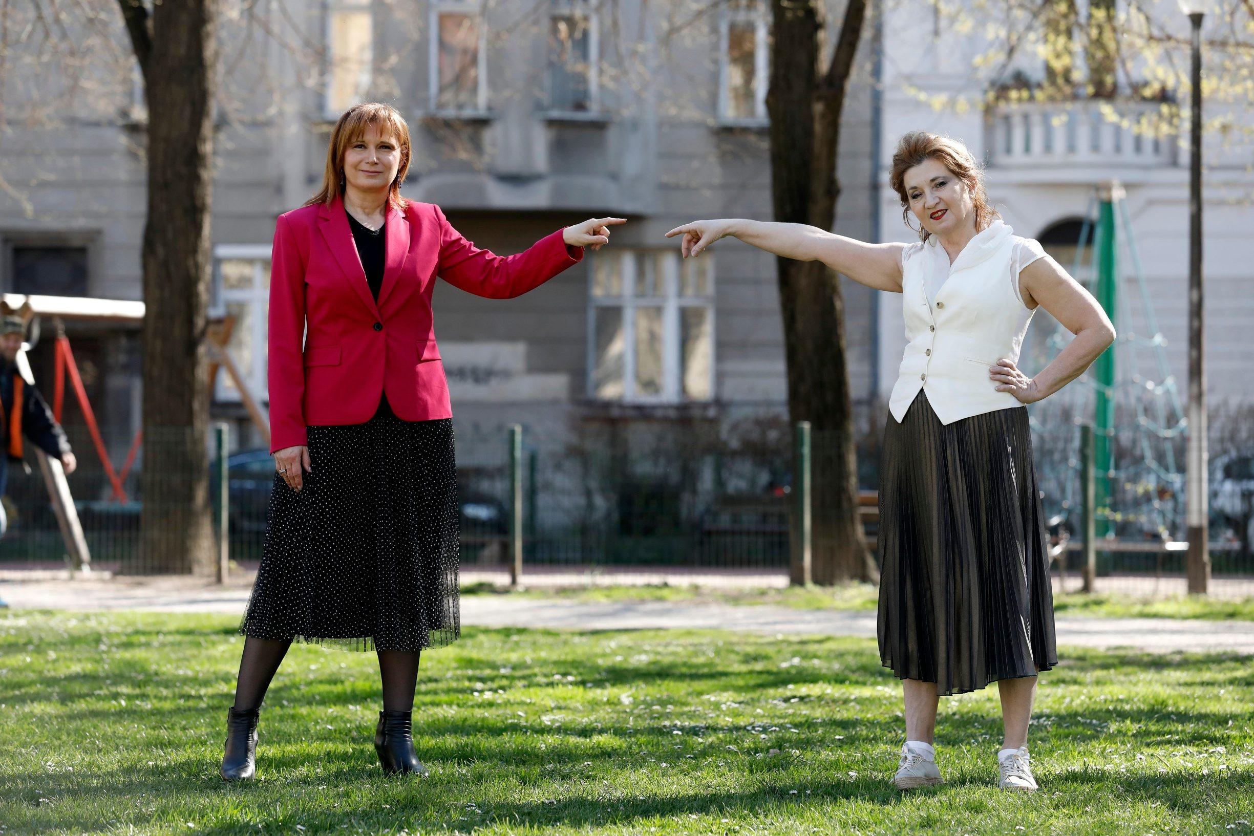 Gordana Kuterovac-Jagodić i Mirjana Dugandžija