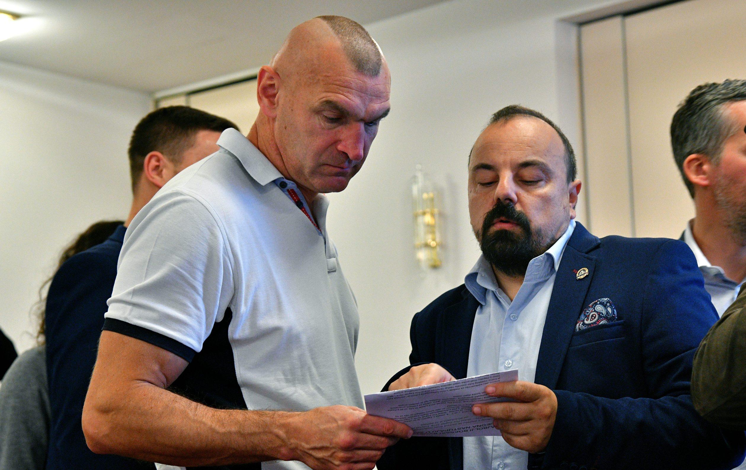Željko Mavrović i Marko Marović