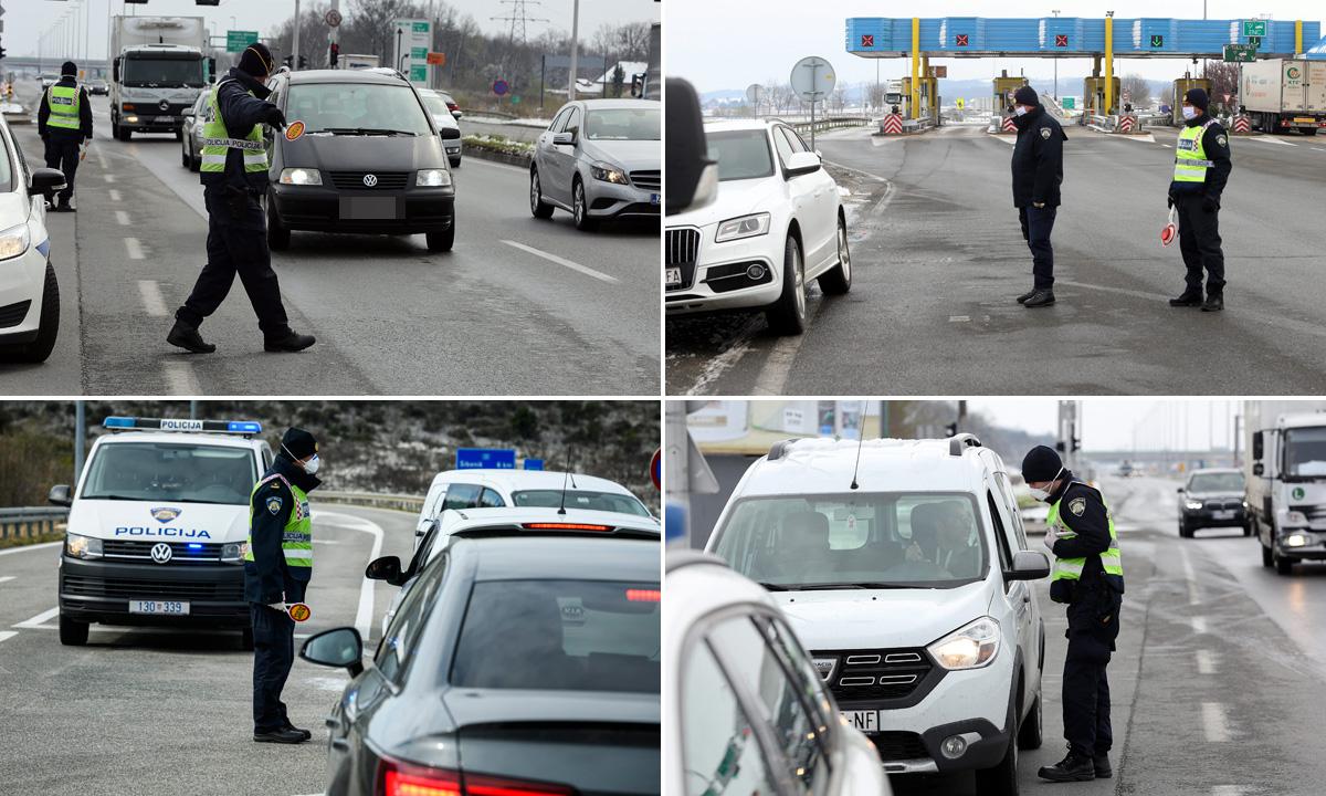 Policija kontrolira