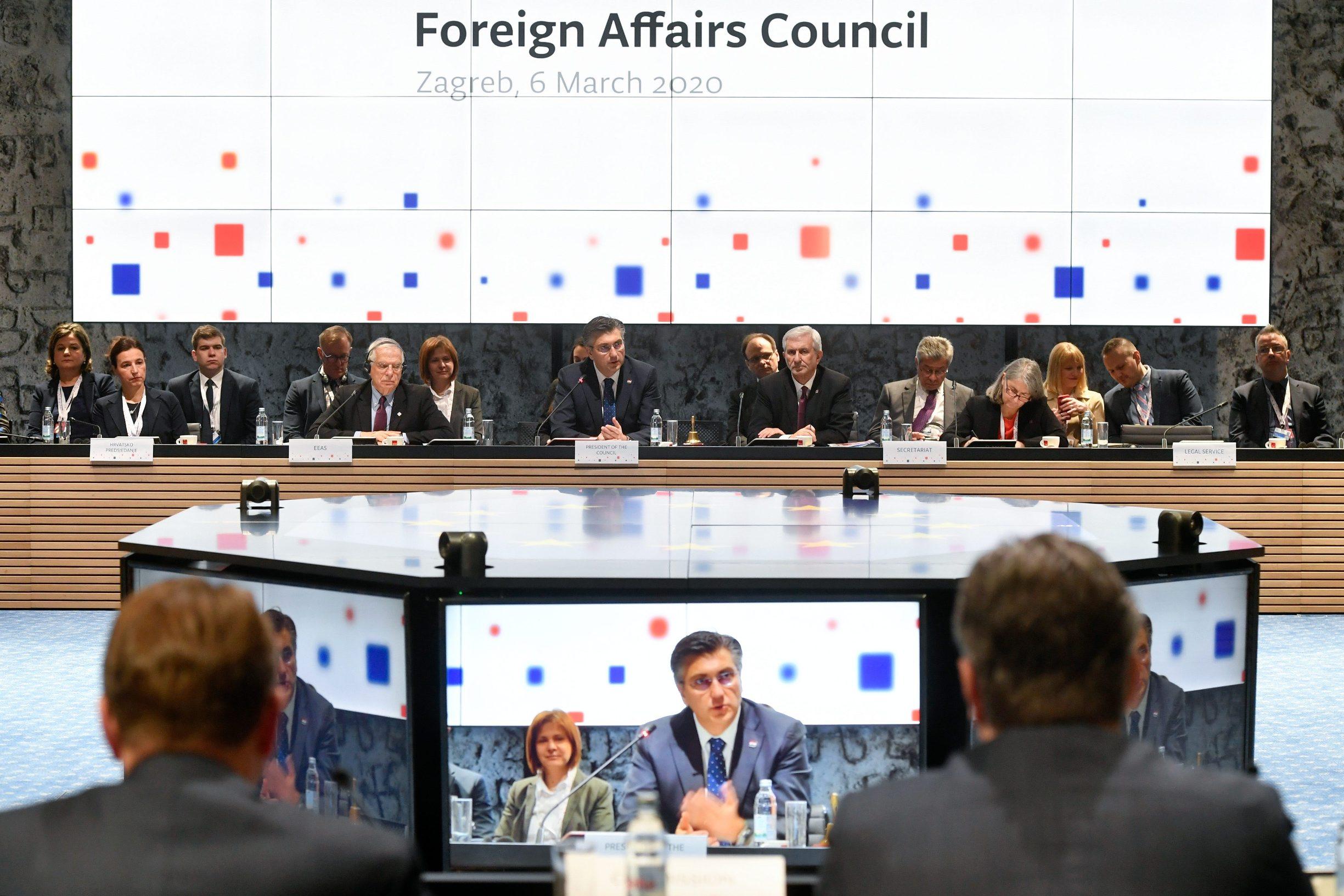 Izvanredni sastanak ministara vanjskih poslova EU posvećen stanju u Siriji u Zagrebu početkom ožujka