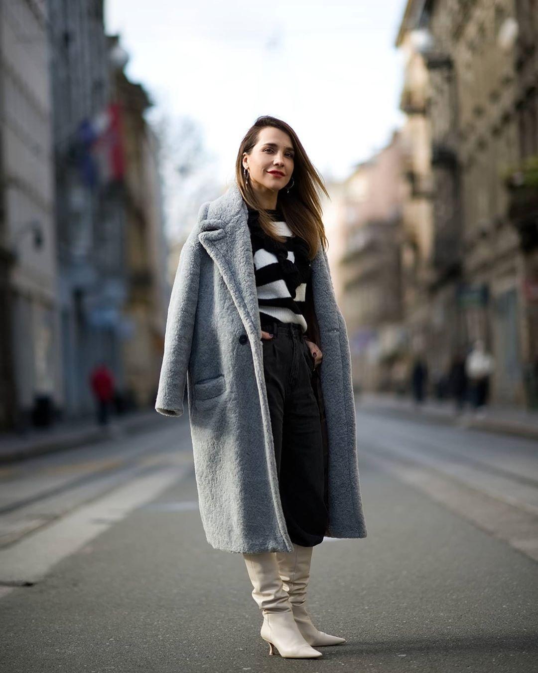 Marijana Batinić u centru grada