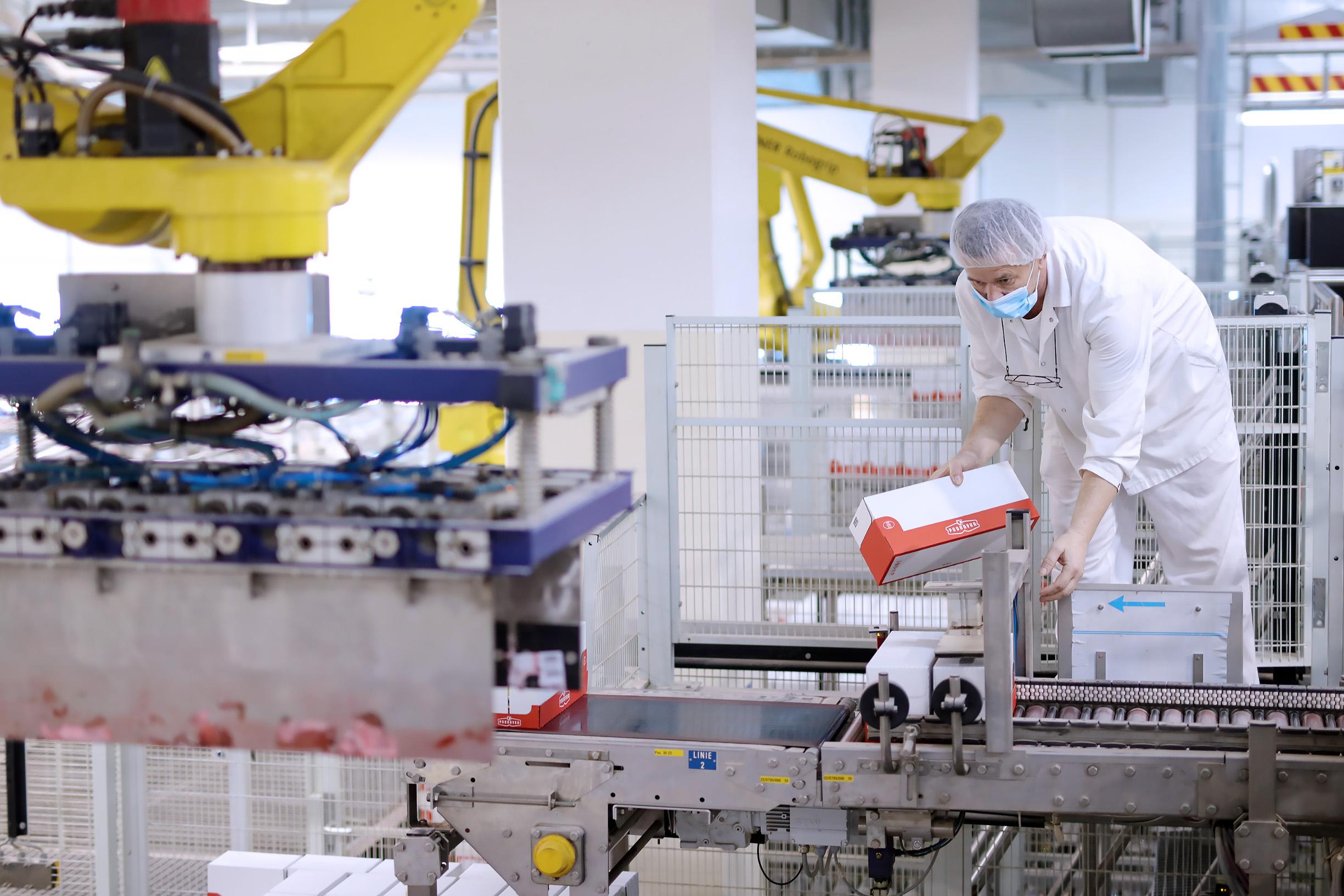 Radnici u Podravkinoj proizvodnji