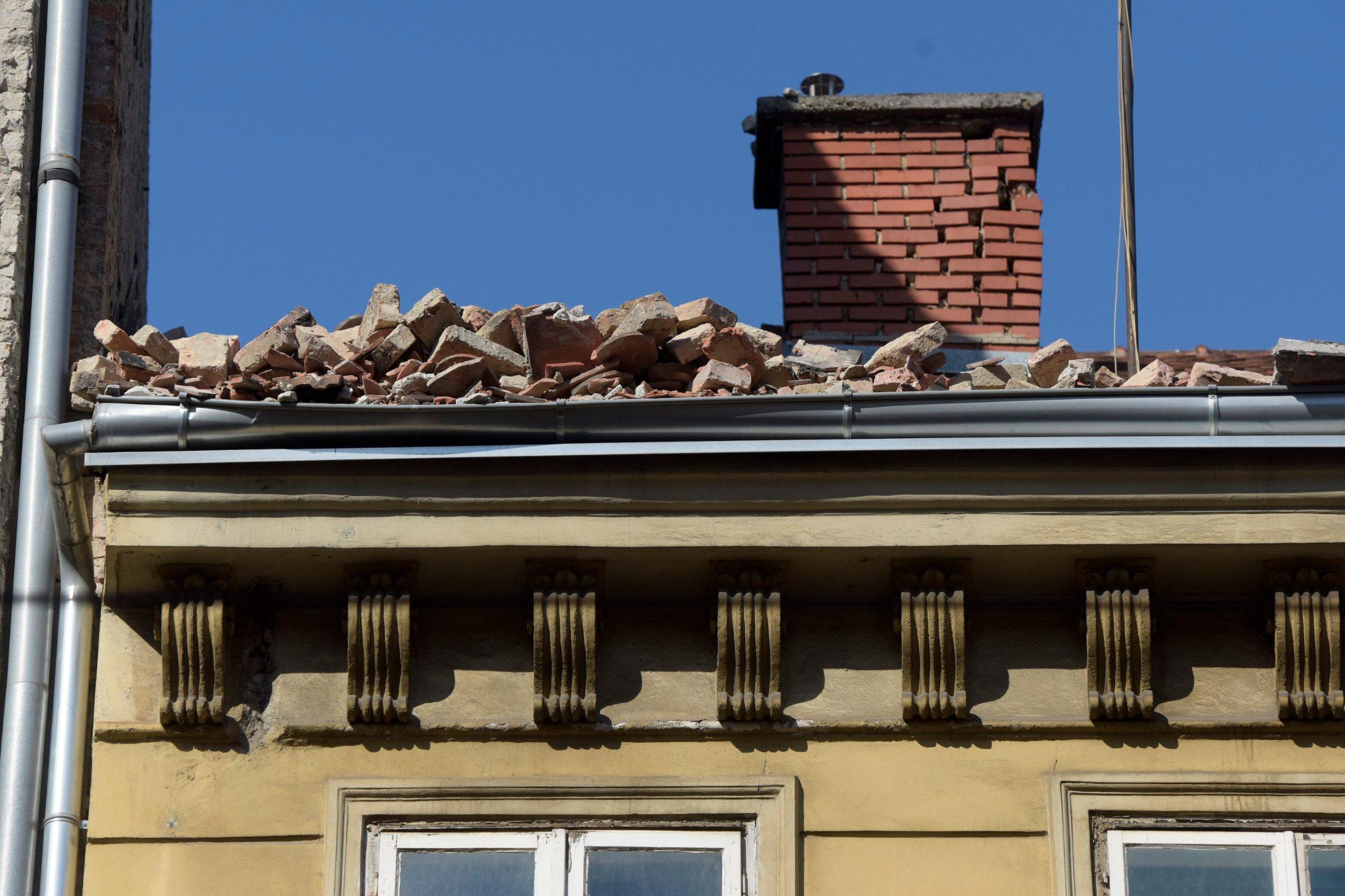 Zagreb potres dimnjak