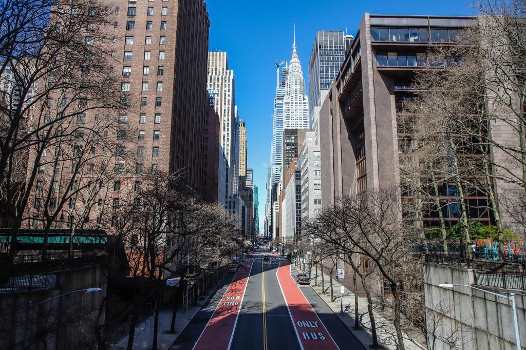 New York prazan