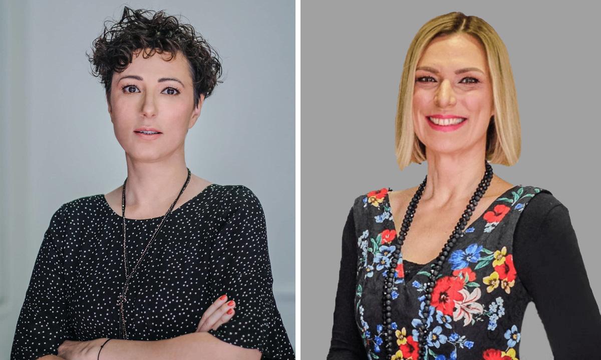 Mirjana Samardžić Novoselec (lijevo) i Nataša Ćurić Martinčević