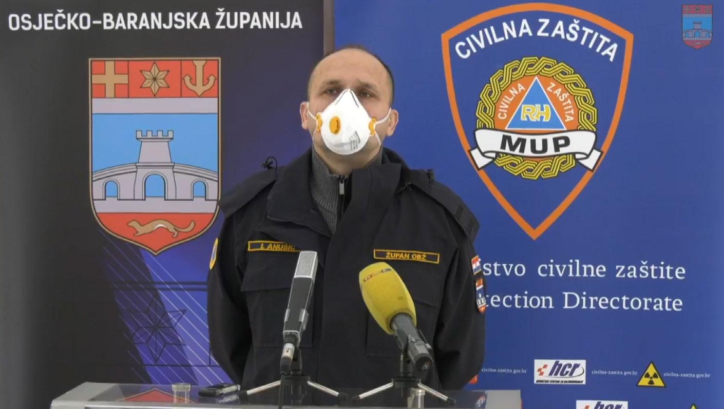 Osječko-baranjski župan Ivan Anušić