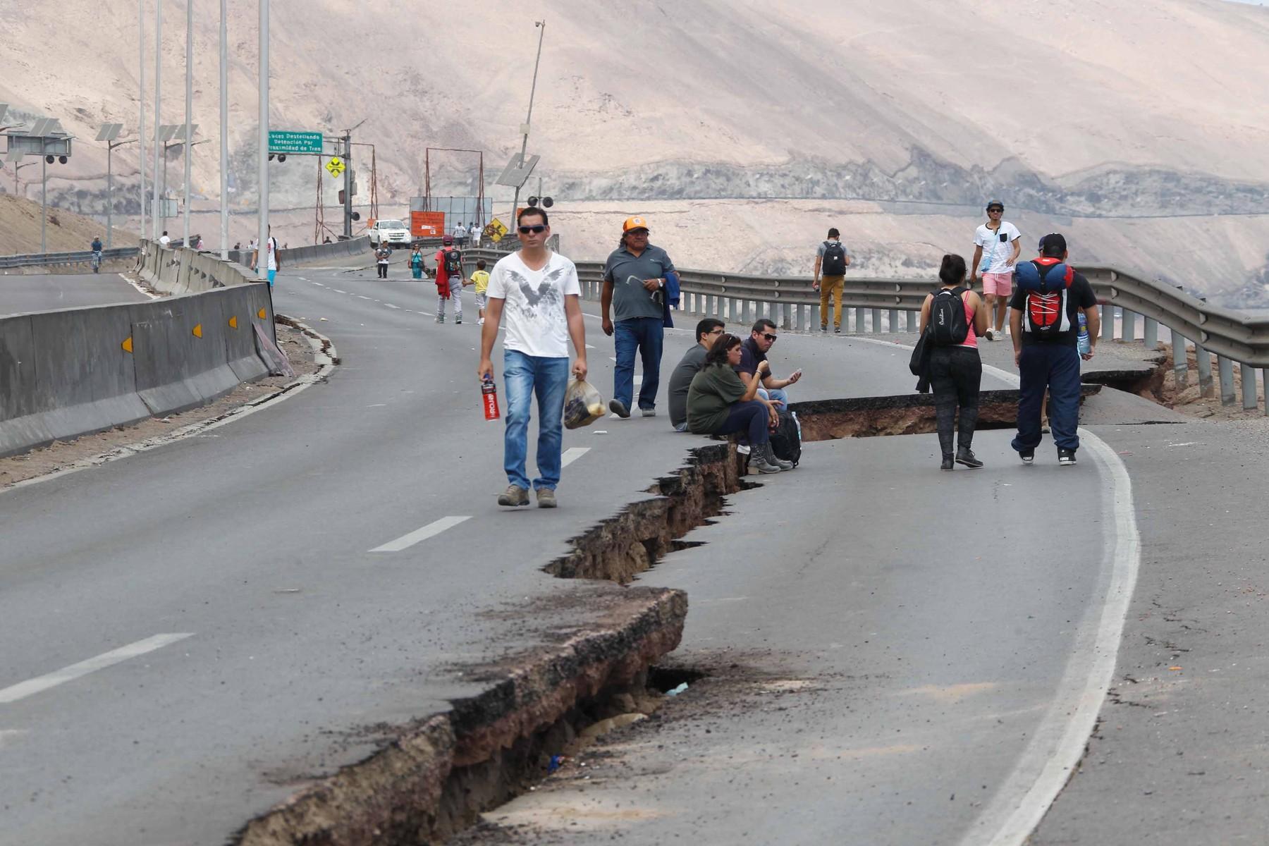 posljedice potresa u Čileu 2014. godine