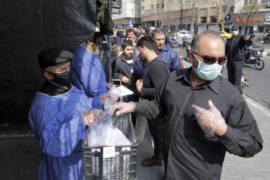 Prizor iz Irana tijekom pandemije Covida-19
