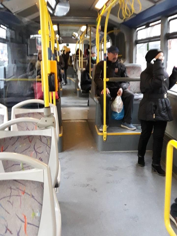 Autobus ZET-a na liniji Remiza - Dubec