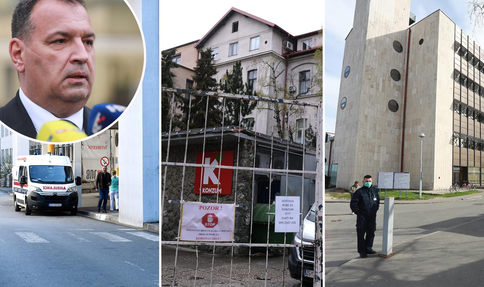 KBC Zagreb, KBC Sestre milosrdnice, KBC Osijek i Vili Beroš u krugu