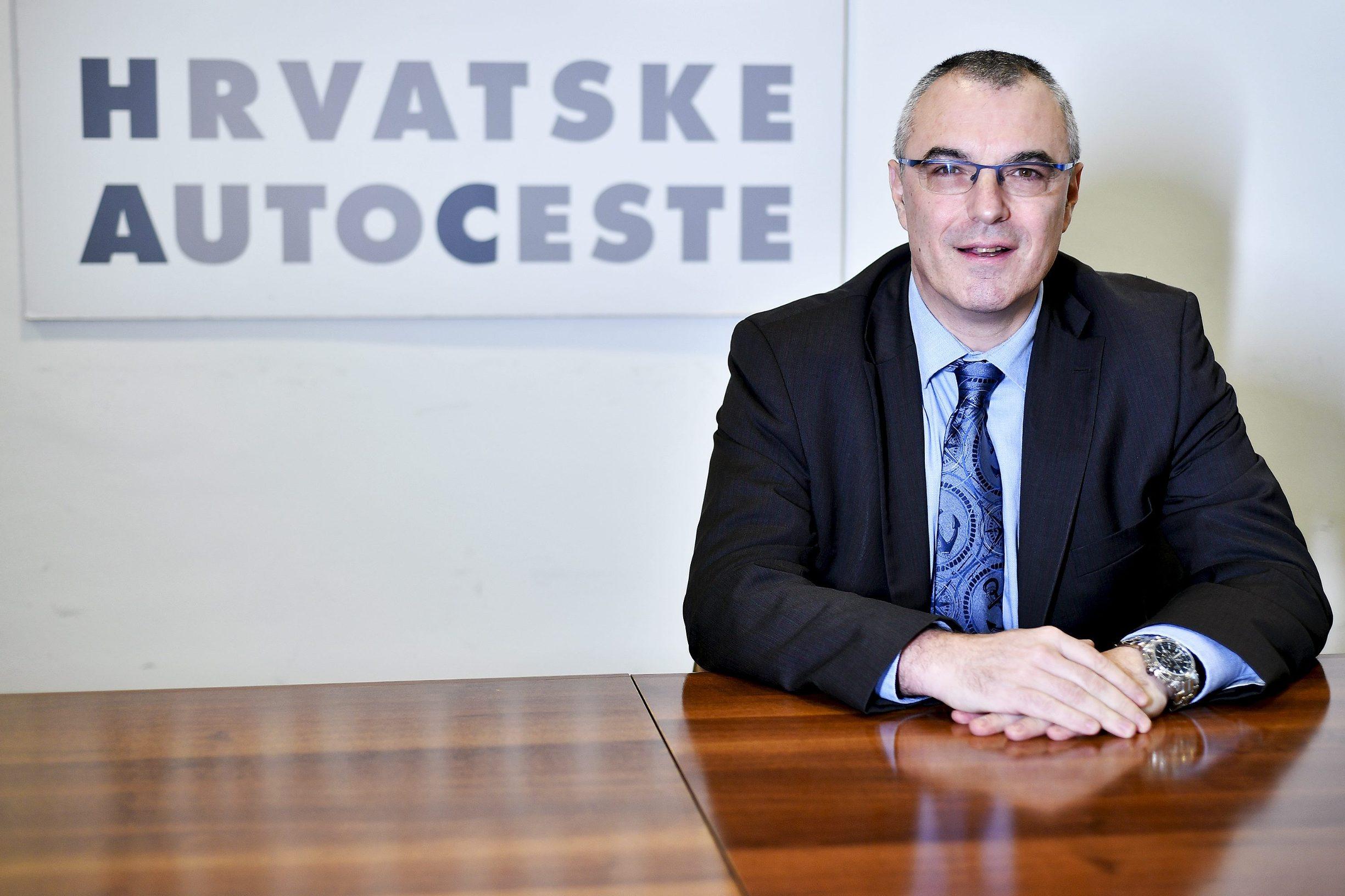Boris Huzjan, direktor Hrvatskih autocesta