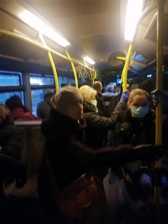 Gužva u ZET-ovom autobusu