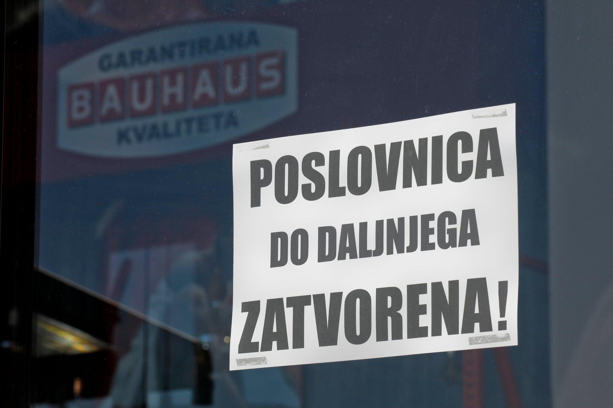 Poslovnica Bauhausa u Jankomiru do dajjnjega je zatvorena zbog koronavirusa