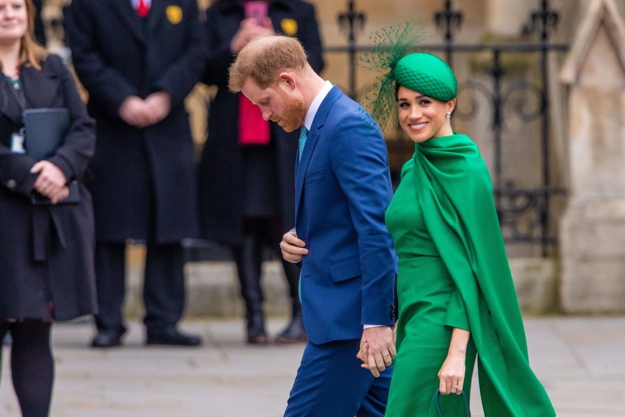 London, UNITED KINGDOM  - Prince Harry And Meghan Markle (the Duke and Duchess of Sussex) Attended Their Last Official Event As Working Royals  The couple joined the Queen and other family members at the annual Commonwealth Day service in Westminster Abbey,  *UK Clients - Pictures Containing Children Please Pixelate Face Prior To Publication*, Image: 505068067, License: Rights-managed, Restrictions: RIGHTS: WORLDWIDE EXCEPT IN NETHERLANDS, Model Release: no, Credit line: BACKGRID / Backgrid USA / Profimedia