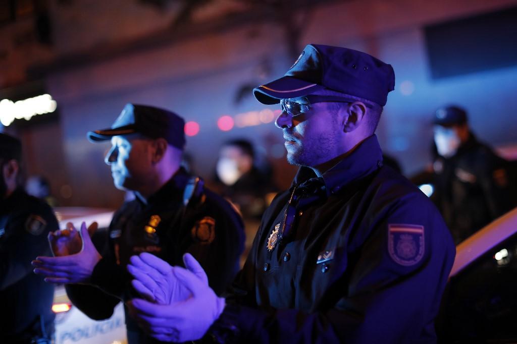 Španjolska policija.