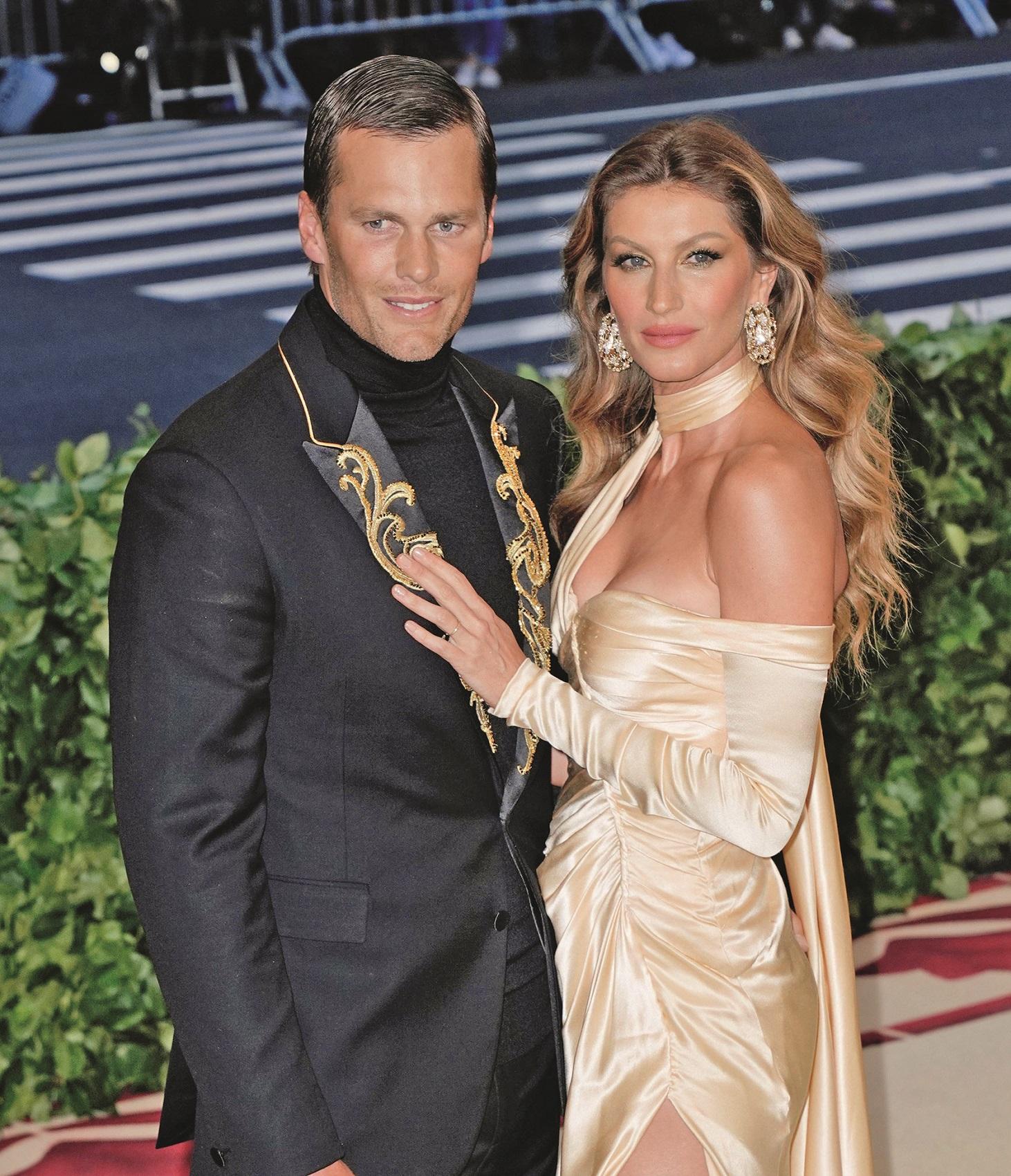 Tom Brady je od 2009. u braku s brazilskim modelom Gisele Bündchen.