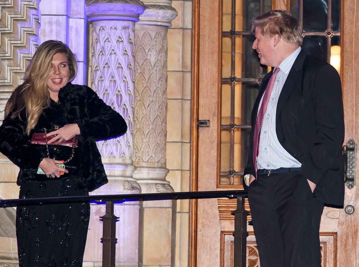 Carrie Symonds i Boris Johnson