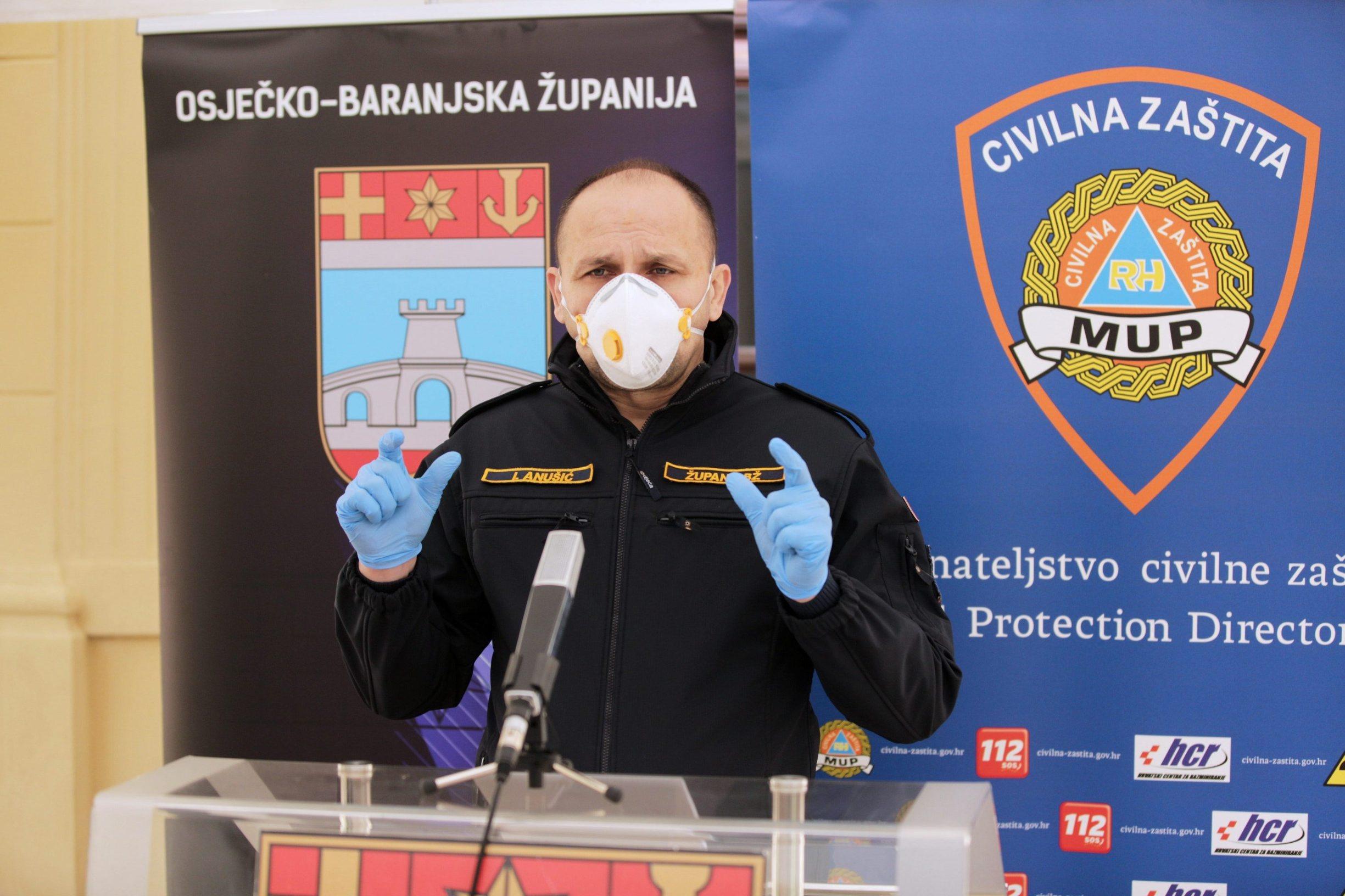 Ivan Anušić, osječko-baranjski župan