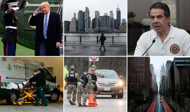 Donald Trump (gore lijevo), Andrew Cuomo (gore desno)