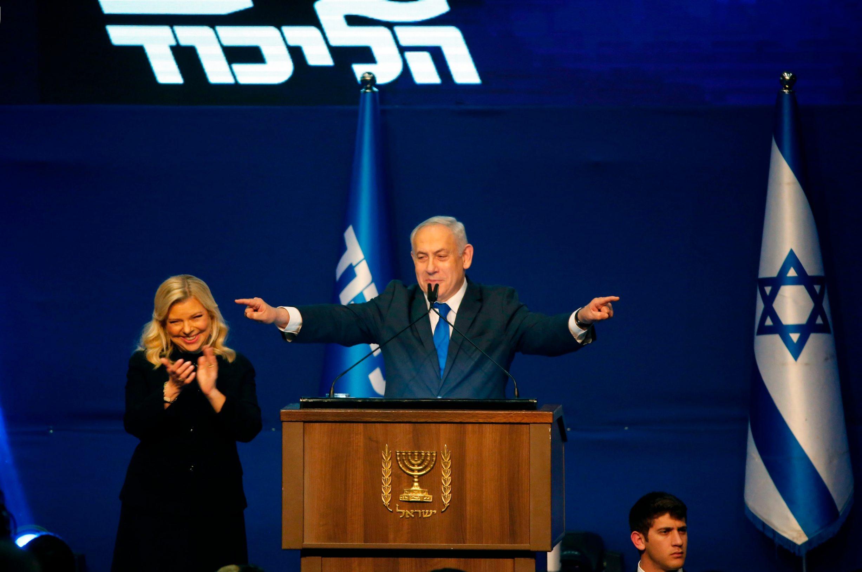 Izraelski premijer, stari i novi, Benjamin Netanyahu i njegova supruga Sara koja je stalno uz njega