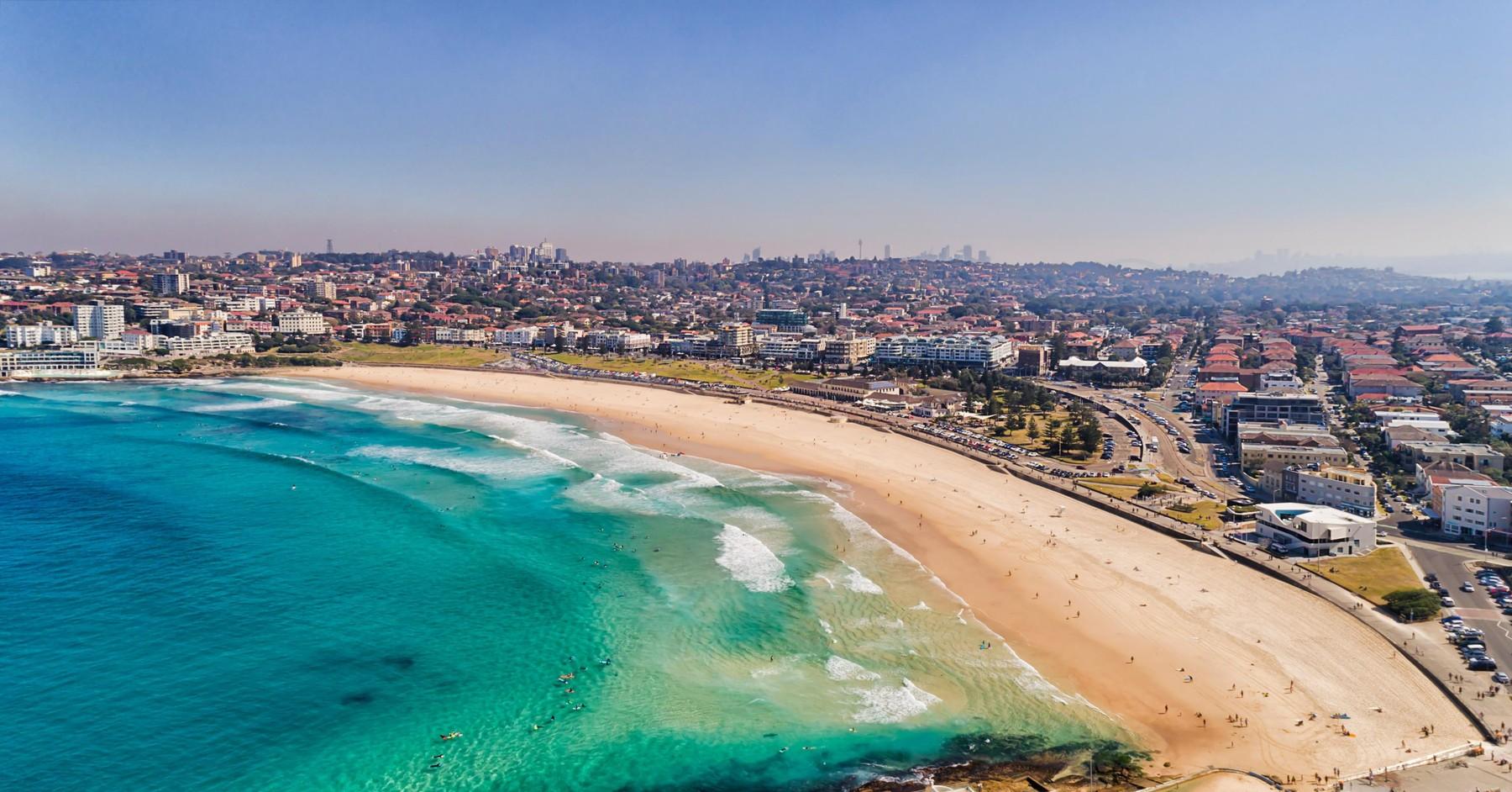 plaža Bondi u Australiji