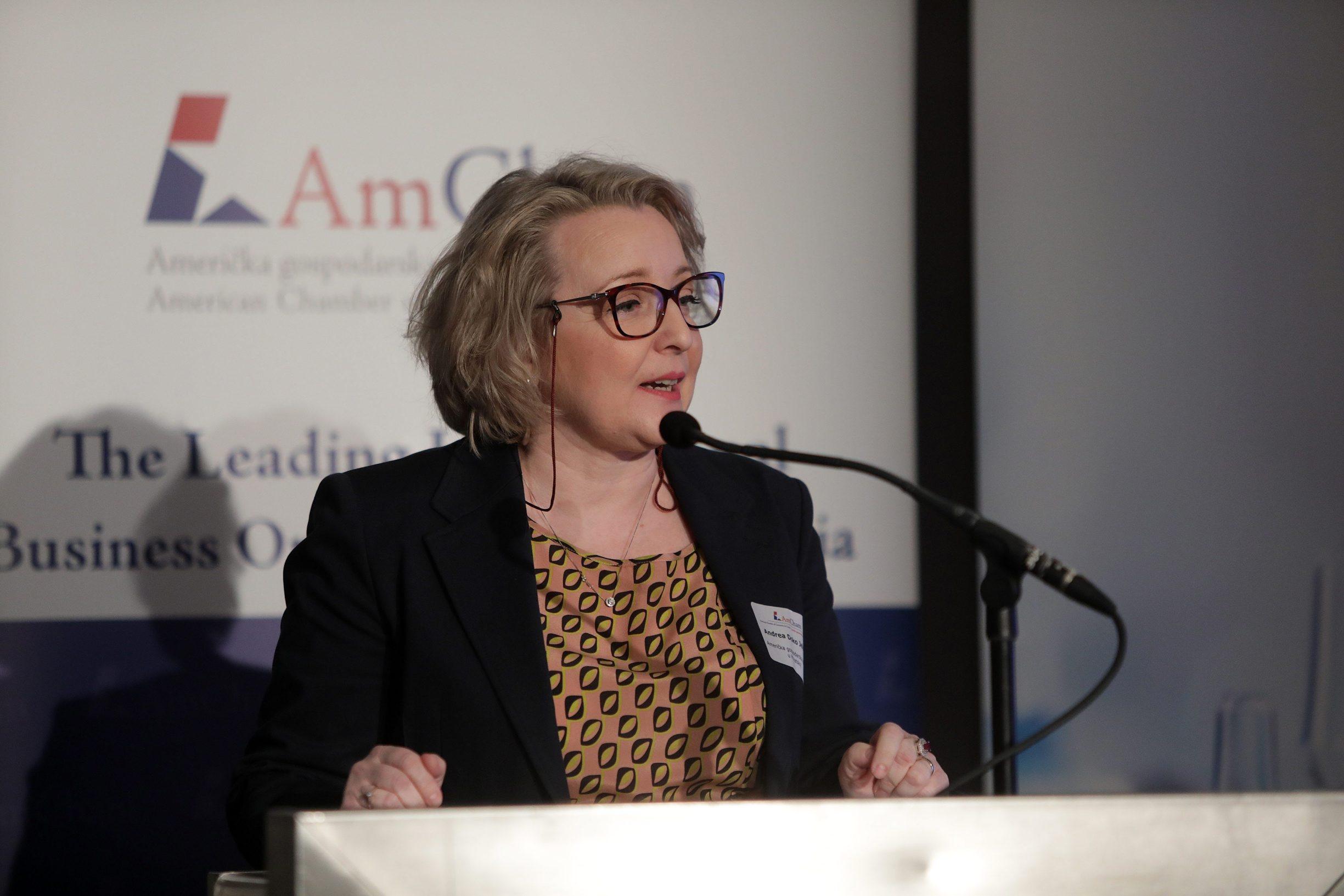 Andrea Doko Jelusić, izvršna direktorica Američke gospodarske komore u Hrvatskoj
