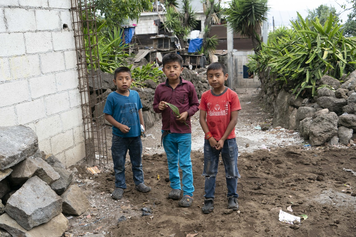 Ilustracija, djeca u Gvatemali