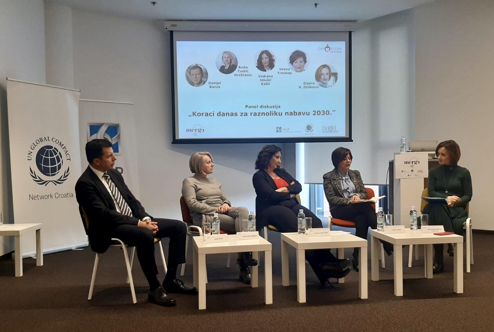 Panel diskusija na temu 'Koraci danas za raznoliku nabavu 2030.'