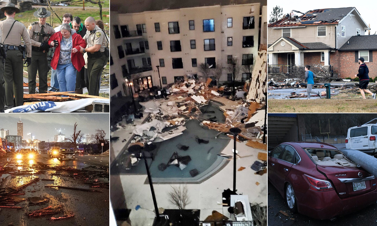 Tornado u Nashvilleu