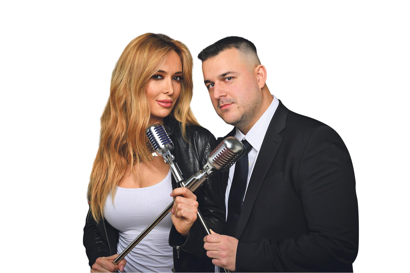 """""""Lovac"""" iz """"Potjere"""" Dean Kotiga i Lidija Bačić"""