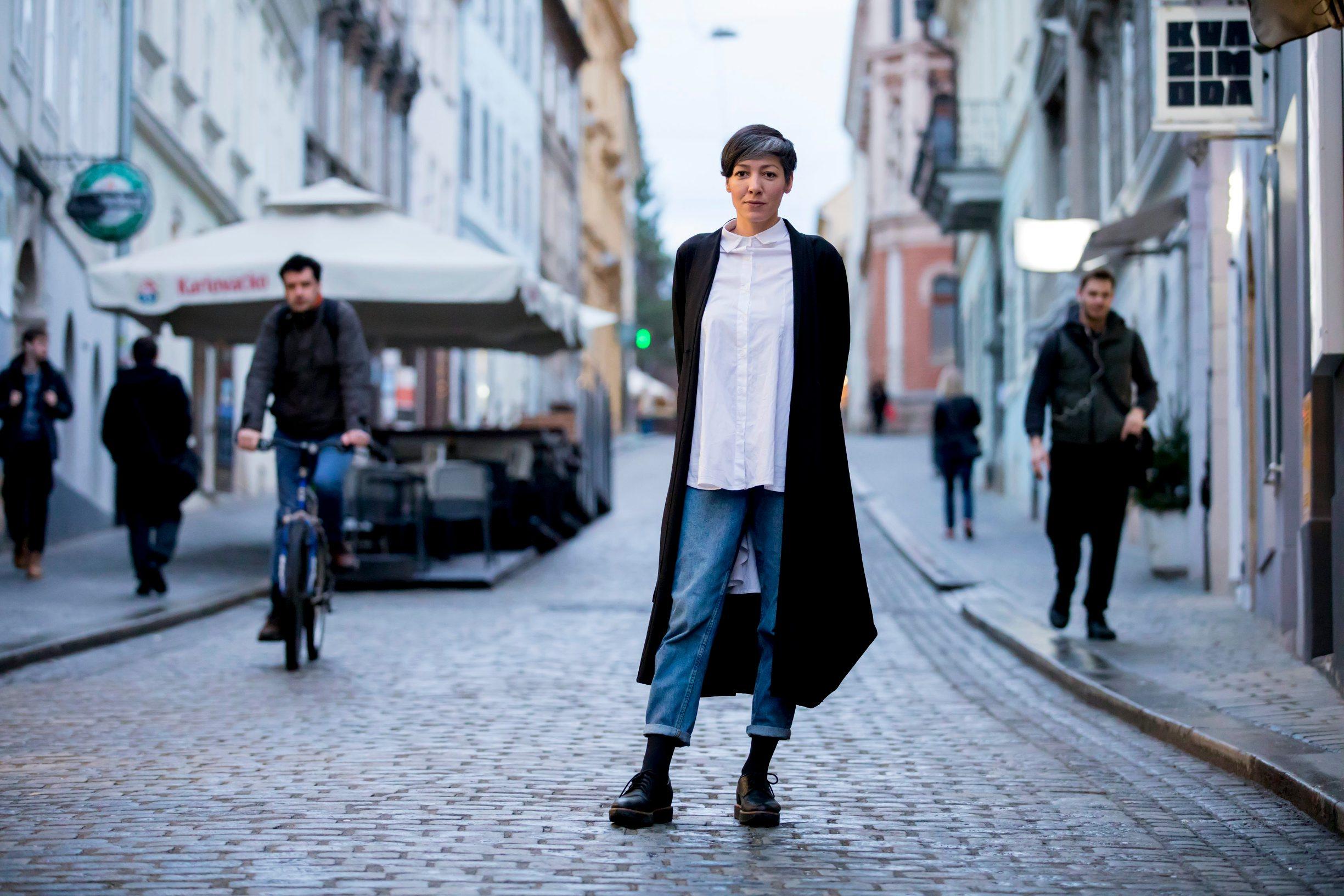 Zagreb, 030320. Radiceva ulica. Na fotografiji: Lana Bobic - feministicka teologinja. Foto: Tomislav Kristo / CROPIX