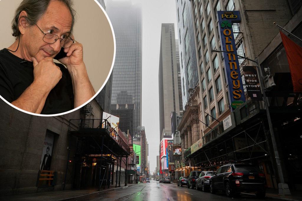 Michael Levitt i New York